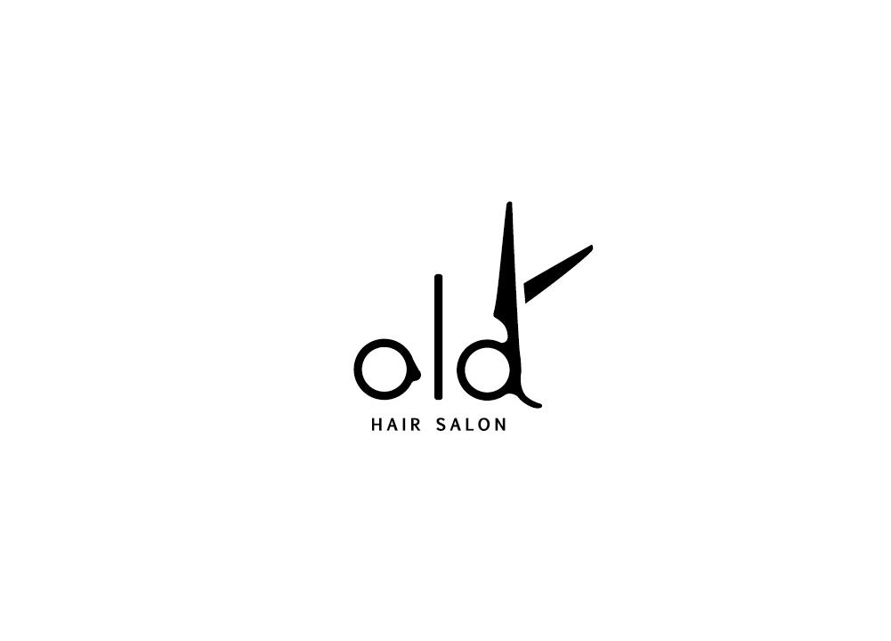 old ロゴ 印刷物 design